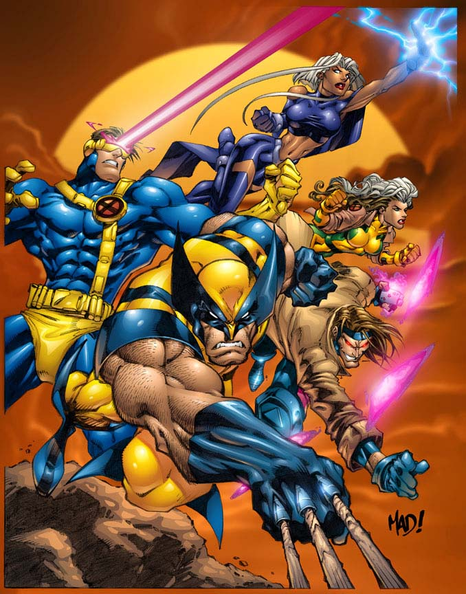 Powerful Team X-men !