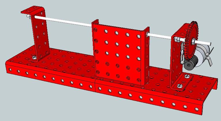 Construccin de mecanismos - Mecanismo puerta corredera ...