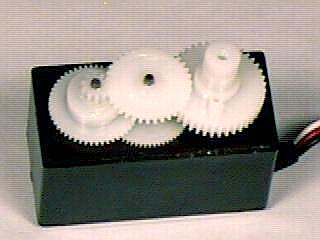 Picture of servo gears
