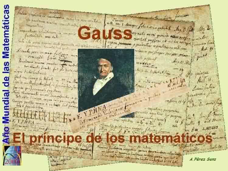 Matem Ticas Del Siglo Xix Gauss