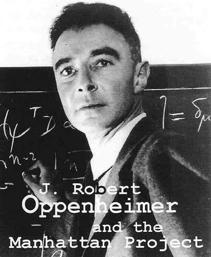 Resultado de imagen de El astrofísico    Oppenheimer