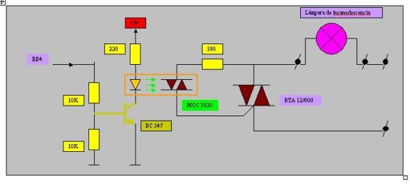 Pr ctica n 7 proyecto regulador lum nico mediante el - Regulador intensidad luz ...