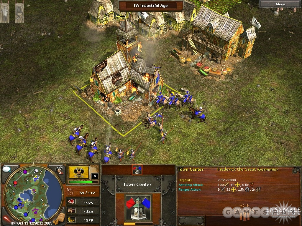 Where is located - Age of Empires III Heaven Forum